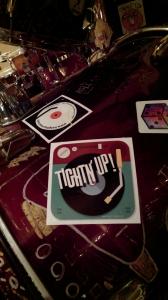 tightn up sticker drum kit