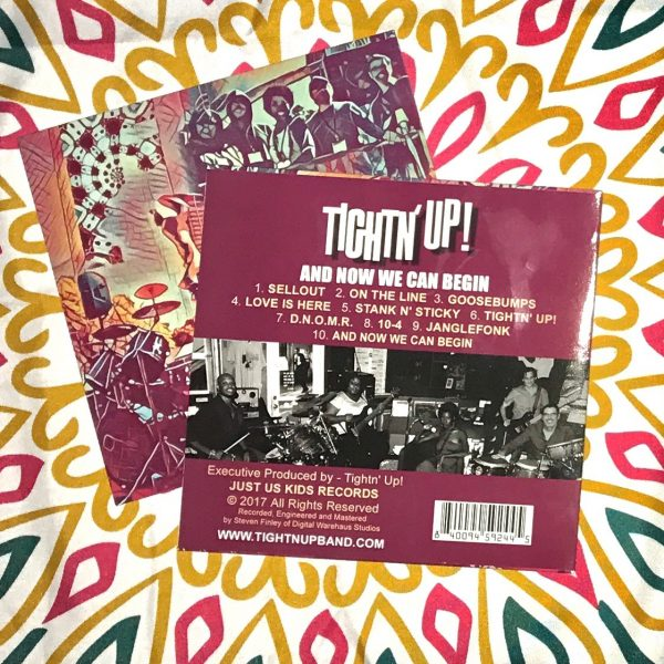 tightn up cd and now we can begin funk houston soul debut album